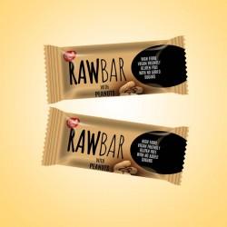 098 - RawBar -Datlovo-arašídová tyčinka 19g x25ks