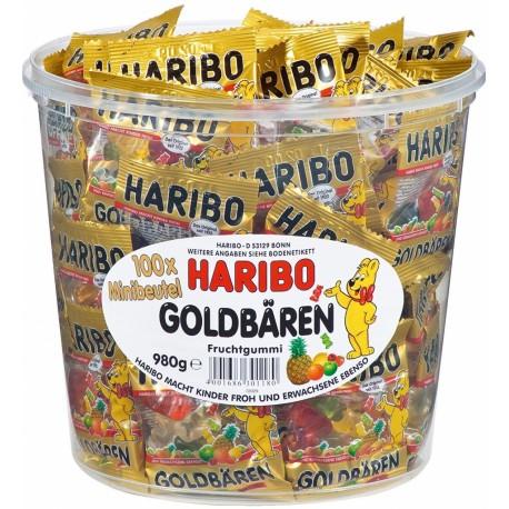 Haribo Goldbären Minis v kyblíku 100x10g 1kg