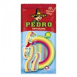 105 - PEDRO Tutti Frutti pásky 85g - 18 ks