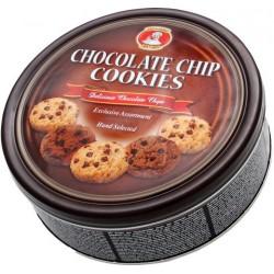 Sušenky Cookies čokoládové 454g dóza