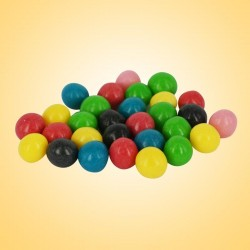 313 - Žvýkací dražé s ovocnými příchutěmi 1000g