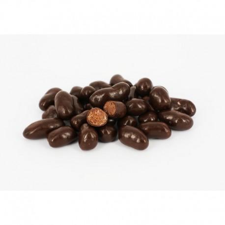 113 - Malinové hrudky v hořké čokoládě 500g