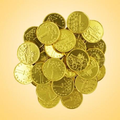 134 - Mince mléčná čokoláda 400g(98-100Ks)