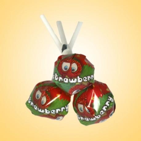 Jahoda - sladké lízátko 800g
